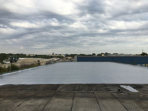 Commercial Elastomeric Roof Coating in Dallas TX