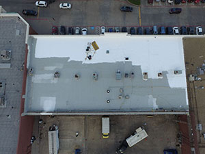 Spray Foam Roofing System in OKC